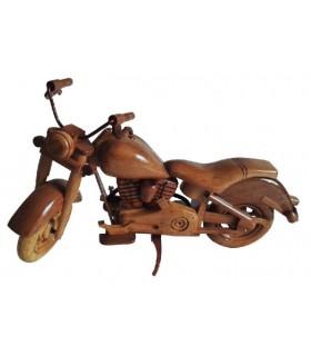 Maquettes de motos en bois