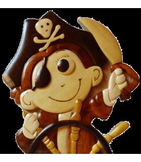Décoration pour chambre d'enfants sur le thème des pirates