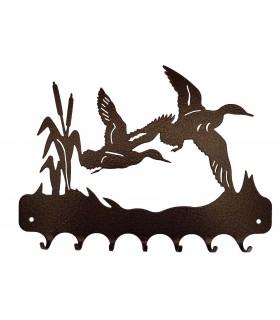 Accroche-clés muraux en métal, décoratifs et originaux