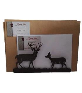 Porte-courrier en métal décoratifs originaux