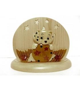 Lampes de chevet veilleuses bébé et enfant avec prénom en bois - PASSION DECO