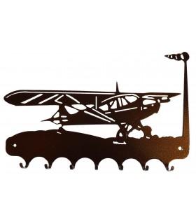 Accroche-clés en métal originaux et pas chers sur le thème des avions et aéronefs