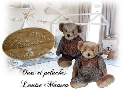 Ours en peluche Louise Mansen